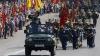 Paradă militară în PMAN, la 20 de ani de Independență