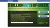 Ziua Pământului 2011 şi Facebook vor să atragă un miliard de acţiuni verzi