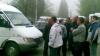 Protest în Capitală: Şoferii de pe două rute de microbuz au blocat circulaţia la Malina Mică VIDEO