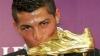 Cristiano Ronaldo a luat Gheata de Aur pentru a doua oară