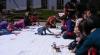 Sute de copii şi-au propus să înscrie Moldova în Guinness Book