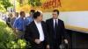 Vlad Filat şi ambasadorul american în Moldova au fost surprinşi la o plimbare