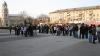 Protest la Bălţi: Creştinii ortodocşi nu vor islam