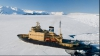 Scurgere radioactivă la bordul unui spărgător de gheaţă rusesc