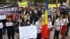 Protest anti-protest: Coaliţia Nediscriminare pichetează Mitropolia Moldovei