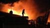 Incendiu în oraşul Durleşti: Acoperişul unei case a fost cuprins de flăcări