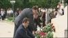 Lupu, Filat şi Ghimpu au depus flori în memoria victimelor deportărilor