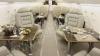 EXCLUSIV!  Fotografii cu avionul de lux închiriat de Voronin pentru invitaţii la nunta nepoatei