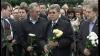 Politicienii au depus flori în memoria victimelor ocupaţiei sovietice şi au cerut retragerea armatei ruse de pe teritoriul Moldovei