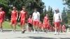 Echipa lui Ştefan Stoica a făcut o plimbare înainte de meci