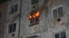 Incendiu la un cămin din Capitală