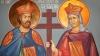 Creştinii ortodocşi îi sărbătoresc azi pe Sfinţii Constantin şi Elena