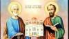 Aproape 48 de mii de moldoveni îşi sărbătoresc ziua onomastică în cinstea sfinţilor Petru şi Pavel