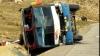ACCIDENT în România: Un autocar cu copii s-a răsturnat