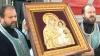 La biserica Ciuflea din Capitală a fost adusă icoana Maicii Domnului Făcătoare de Minuni din Ierusalim
