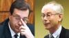 Lupu şi Rompuy într-un gând: Este nevoie de stabilitate politică pentru reformele din Republica Moldova