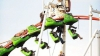 9 oameni au rămas blocaţi la o înălţime de 18 metri, după ce un carusel s-a defectat