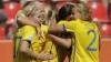 Suedia a învins Australia cu 3-1 şi s-a calificat în semifinalele Campionatului Mondial feminin