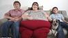 Cea mai grasă femeie din lume vrea să ajungă la o tonă FOTO