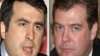 Saakaşvili a devenit preşedinte al Georgiei datorită lui Medvedev?!