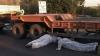 (VIDEO) Un camion al Ministerului Apărării Naţionale din România a strivit un bărbat