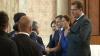 """Recepţie """"de vârf"""" la Palatul Republicii: Diplomaţi şi foşti şefi de stat întâmpinaţi de Lupu şi Filat"""