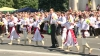 Lupu, Filat, Plahotniuc şi Chirtoacă au dansat hora în Centrul Capitalei VEZI VIDEO