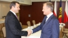 Întâlnire între premieri: Filat și Tusk au decis să facă schimb de experiență în domeniul financiar