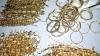 Aur şi argint de contrabandă, în valoare de 6.000.000 de lei, depistate în trei magazine din Capitală