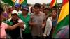 Bolivienii l-au folosit pe ministrul de Externe ca scut uman în timpul ciocnirilor cu poliţia