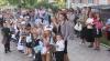 Copiii din clasa BCR din Nemţeni, în prima zi de şcoală