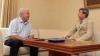 Voronin s-a întâlnit cu Kuzmin şi au discutat despre relaţiile Republicii Moldova cu Rusia