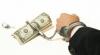Polițiști reținuți pentru luare de mită în valoare de 500 de euro