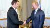 EXCLUSIV! Vlad Filat şi Vladimir Putin au avut o întrevedere între patru ochi la Sankt-Petersburg AFLĂ CE AU DISCUTAT