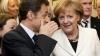 Cancelarul german Angela Merkel şi preşedintele francez Nicolas Sarkozy se întâlnesc pentru a discuta despre criza din zona euro