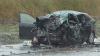 Accident grav la Măgdăceşti. Un copil şi o femeie au murit VIDEO