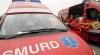 Un microbuz cu 15 copii la bord s-a răsturnat pe o şosea din apropiere de localitatea Horia, Arad