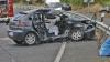 Grav accident rutier: O persoană a decedat şi trei au ajuns la spital