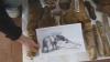 Scheletul mastodontului de la Colibaşi a fost scos din pământ VIDEO