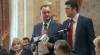 "Iurie Muntean, Igor Dodon, ""plintusuri şi tarakani"", în Parlament VIDEO"