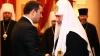 Premierul Vlad Filat s-a întâlnit în capitala rusă cu Patriarhul Moscovei şi Întregii Rusii, Kiril