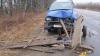 Accident grav: O femeie a murit după ce un automobil a lovit o căruţă FOTO