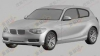 Primele schiţe ale viitorului BMW Seria 1 cu trei uşi FOTO