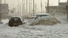 Fenomen meteorologic inedit: Orăşelul Cleveleys a fost acoperit de un strat gros de spumă de mare