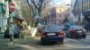 Martor ocular: Un şofer a parcat chiar pe trecerea de pietoni