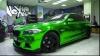 (FOTO) Tuning în stil verde-cromat pentru BMW Seria 5