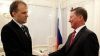 Evgheni Şevciuk a efectuat prima sa vizită oficială la Moscova