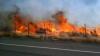 Păduri mistuite de flăcări în California. Peste o mie de turişti au fost evacuaţi din zonă
