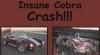 (VIDEO) Cum arată un accident văzut din maşină la peste 200 de km/h