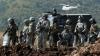 Confruntări violente între poliţişti şi protestatatari la graniţa cu Serbia